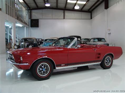 1967 chevy mustang 1967 ford mustang gt a convertible daniel company