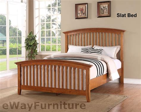 shaker style bedroom sets ashland shaker style slat bed bedroom furniture set