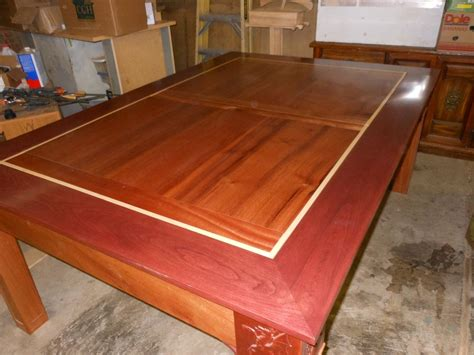 custom gaming table custom wood dining gaming table by concepts n creations
