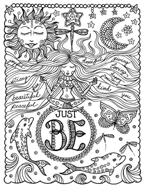 mandala coloring book with quotes 345 best images about coloring pages on snow
