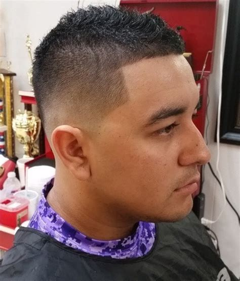 faded sides into a fohawk 60 awe inspiring mohawk fohawk fade hairstyles for men