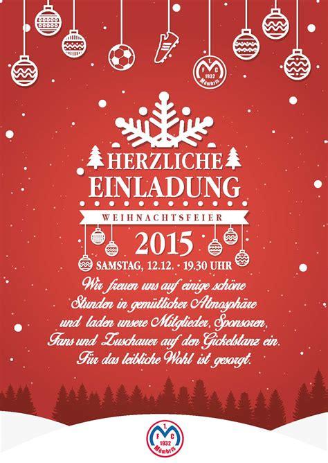 Kostenlose Vorlage Für Einladung Zur Weihnachtsfeier Einladung Zur Weihnachtsfeier 1 Fc M 246 Mbris 1932 E V
