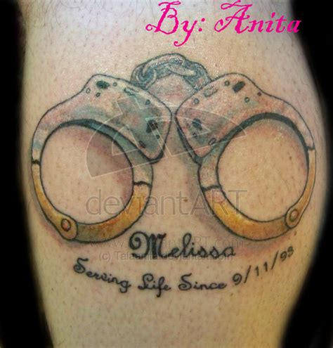 handcuff tattoo handcuff ideas pictures to pin on