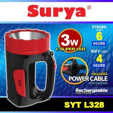 Surya Syt L101 Emergency Led surya syt l328 listrik murah