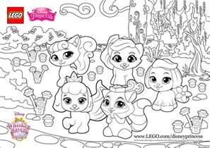 color fun with the palace pets princess lego disney
