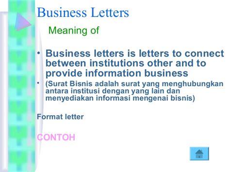 Letter Of Agreement Adalah Korespondensi Inggris