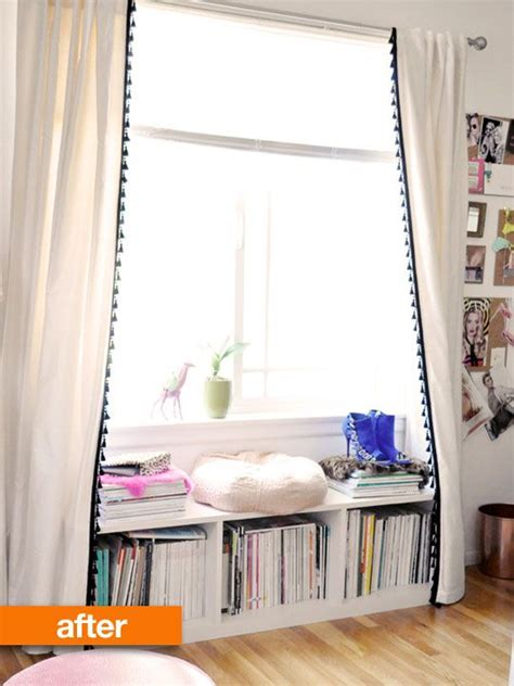 curtains apartment therapy curtains tassels and window on pinterest