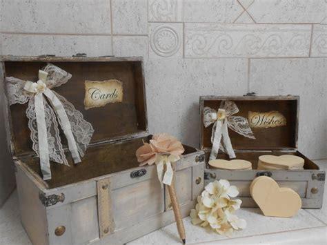 Wedding Box Wishes by Wedding Card Box Wedding Wishes Box Rustic Wedding