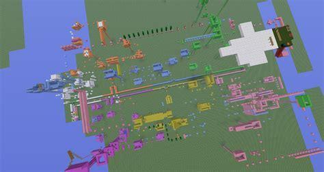 city world map minecraft parkour minecraft worlds curse