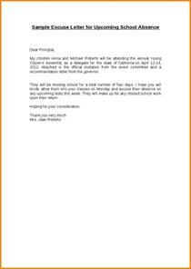 Sle Letter For Absence Due To Illness Excuse Note For School Sle Excuse Letter For Sick Student 1 Png Letterhead Template Sle