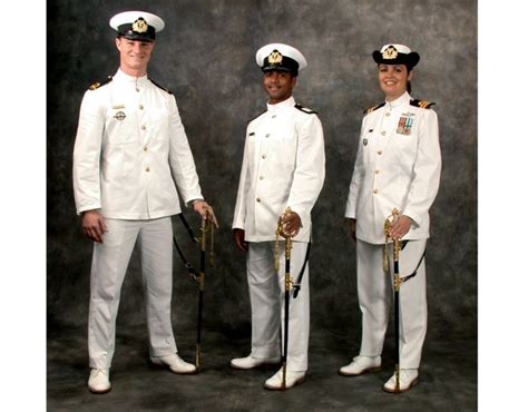 Us Navy Officer Uniforms by Dress 1aw Ceremonial Dress White