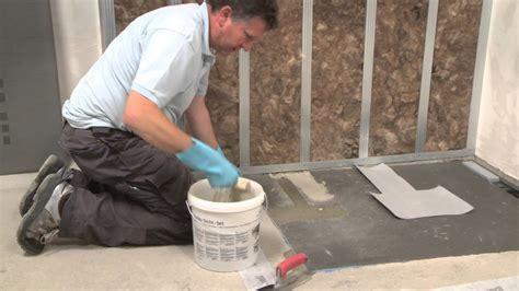 montaggio piastrelle bagno wedi it montaggio della doccia a filo