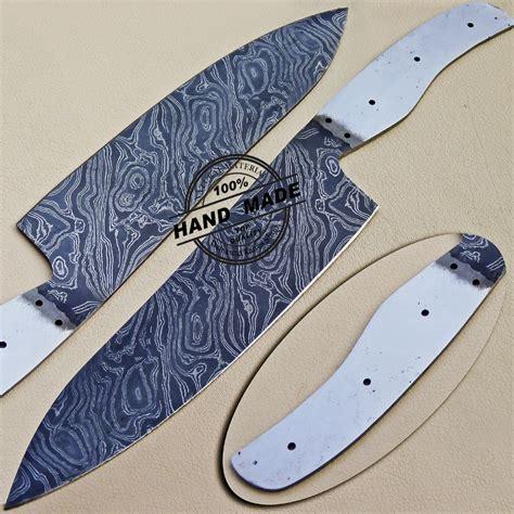 damascus kitchen chef s knife custom handmade damascus steel
