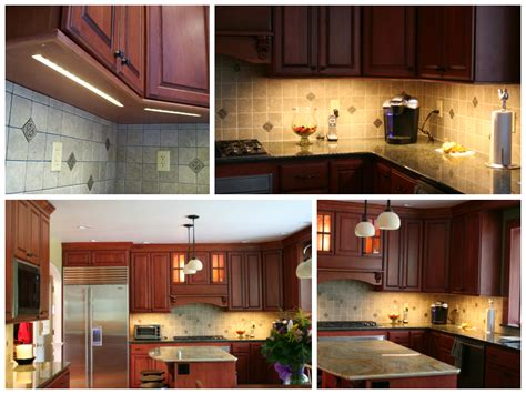 using cabinet and task lighting louie lighting