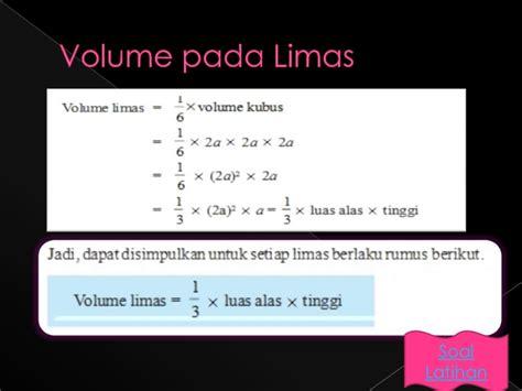 Segi Enam 5 Cm X 12 Cm 100 Pcs Alas Emas presentasi matematika limas