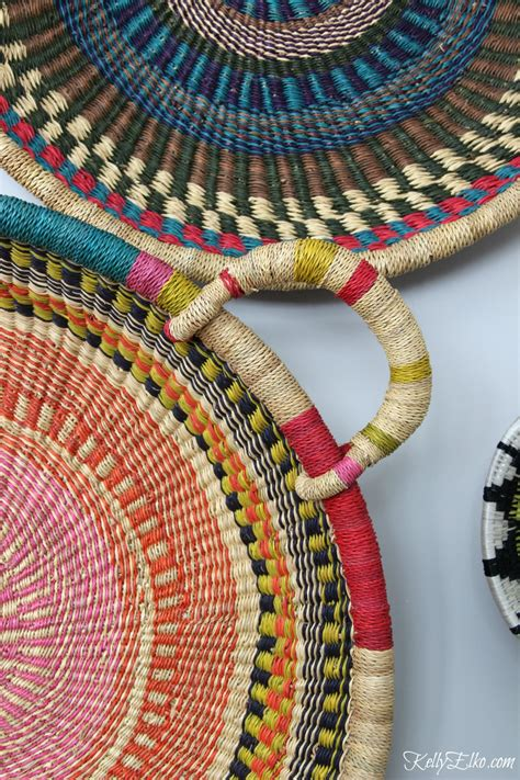 colorful baskets colorful basket gallery wall elko