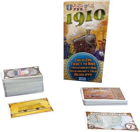 ticket to ride testo ticket to ride usa 1910 giochi da tavolo days of