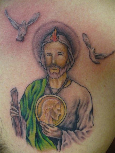 tattoos san judas tadeo pin marcos guatemala big by to possible