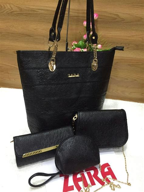Set Zara zara bags 4 set combo 6 colours branded products for