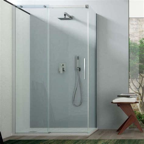 box doccia trasparente box doccia angolare 120x80 in cristallo trasparente da 8