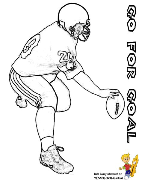 Football Coloring Pages To Print Football Free Coloring Pages For Boys Football Teams Free