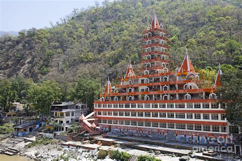 Art And Home Decor by Sri Trayambakeswar Temple In Rishikesh India Photograph By
