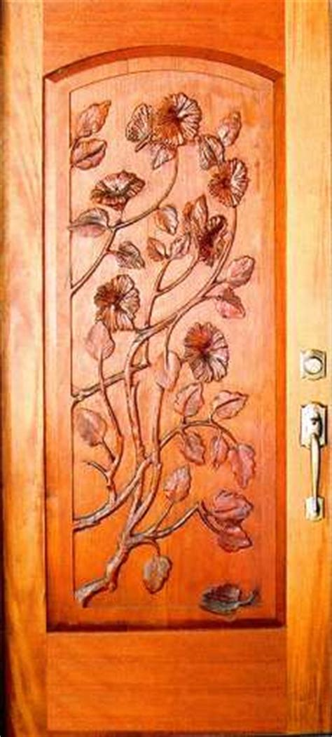 flower design on main door sculptured single doors arched floral design doors