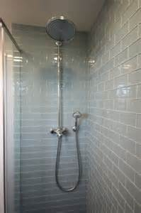 bathroom glass tile designs 35 blue gray bathroom tile ideas and pictures
