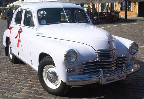 Auto Warszawa by File Gaz M 20 Quot Pobeda Quot In Warszawa Ceremonial Events