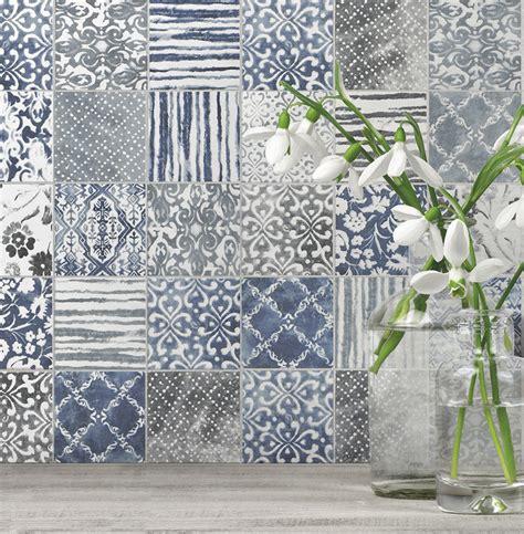 country kitchen backsplash tiles patchwork backsplash for country style kitchen ideas
