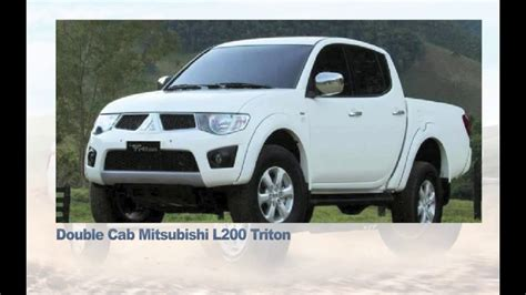 mitsubishi  triton pickup truck