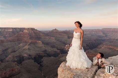 Tim & Samantha?s Wedding in the Grand Canyon ? Jared Platt