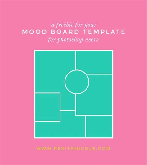 mood boards mondays and templates on pinterest