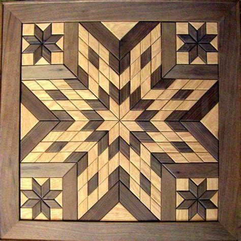 wooden barn quilts  sale wooden star wall hanging