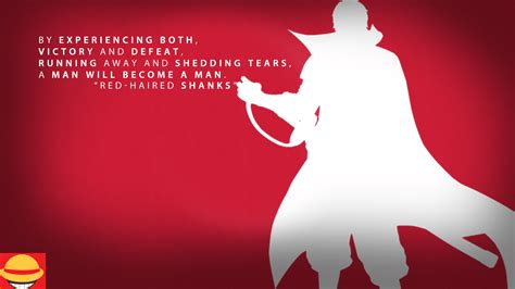 red haired shanks quote hd wallpaper background image