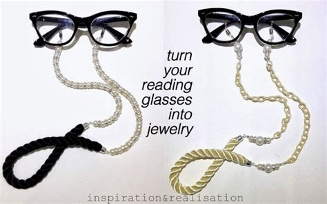 how to make a pearl rope eyewear chain