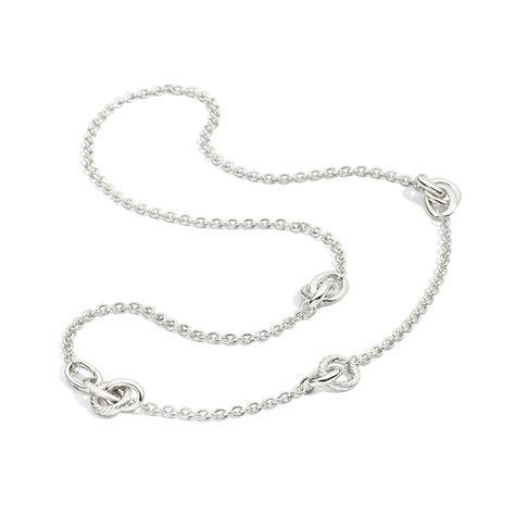 pomellato collane pomellato pomellato 67 collana catena lunga argento c