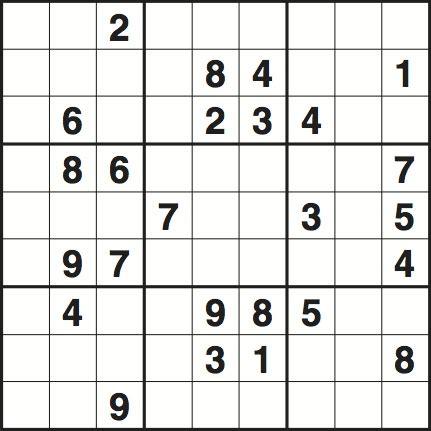 sudoku printable version sudoku 3349 hard life and style the guardian
