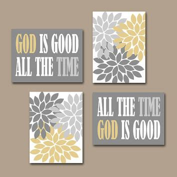 christian home decor wall art god is good all the time wall art canvas from trm design