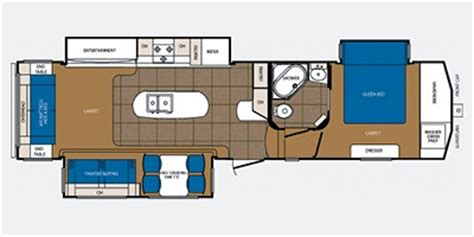 crusader fifth wheel floor plans 2013 crusader touring fifth wheel series m 330 mks specs