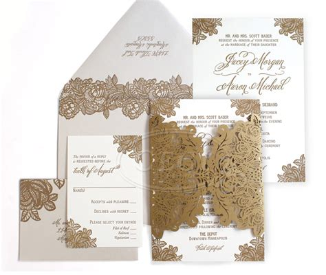 Wedding Invitation Card Printing Cost by Laser Cut Wedding Invitations Letterpress Invitations