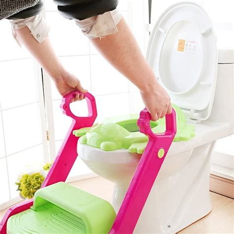 Potty Baby Safe portable ladder new baby toddler potty toilet trainer