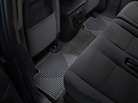 2004 Ford Explorer Floor Mats by Weathertech 174 All Weather Floor Mats Ford Explorer 2004 2010 Black Ebay