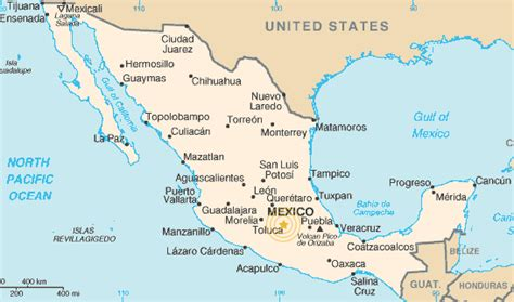 mexico in map maps of toluca