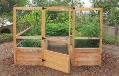 deer proof cedar complete raised garden bed kit