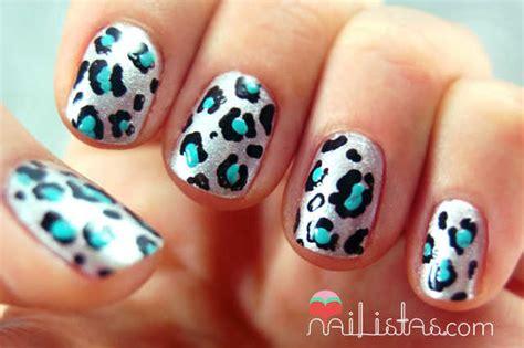 imagenes de uñas acrilicas de leopardo u 241 as decoradas con animal print de leopardo nailistas