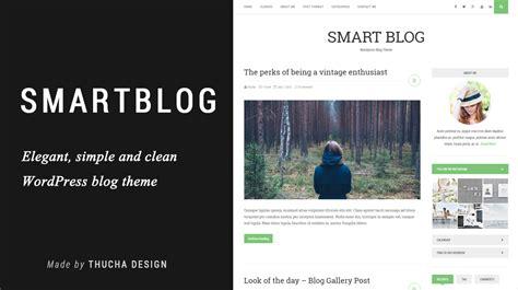 blog theme smartblog smart blog a wordpress blog theme themes templates