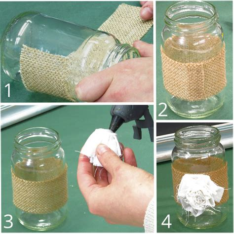 Decorating Ideas For Jelly Jars Beautifully Simple Jam Jar Decorations