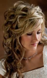Beautiful long wavy curly hairstyle for wedding hairstyles weekly