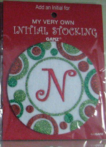 christmas stockings with initial
